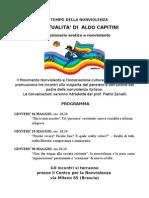 Aldo Capitini. Incontri a Brescia