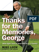Thanks for the Memories, George, by Mike Loew - Excerpt