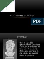 El Teorema de Pitagoras