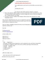 A Multi-threaded Socket-based Java Server