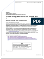 Achieve Strong Performance With Threads-part 1