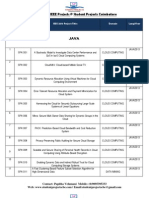2013 ieee Java Project Titles-student Projects