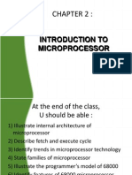 Chapter 2 Introduction To Microprocessor