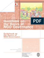 PCNC Guidebook on the Basics of NGO Governance