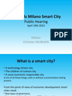 Milano SmartCities Milano 19April2013