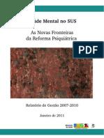Saude Mental Fronteiras Reforma Psiquiatrica