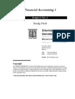 Financial Accounting 1 by Harold