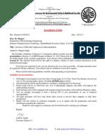 113.Acceptance Letter