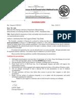 115.Acceptance Letter