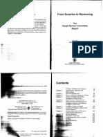 Kargil Review Committee Report 1999