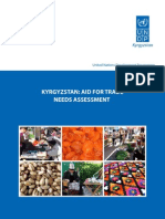 Kyrgyzstan aid for trade needs assessment