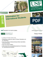 INTO 미국 USF Information