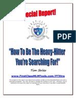 Heavyhitter Tim Sales