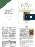 2013 - 25 July - St Anna Dormition - Service-festal Matins