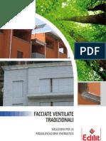 Brochure Facciate Ventilate Tradizionali Bluclad - Eterbacker 0