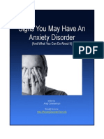 Signs You May Have Anxiety Disorder