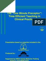 0.oneminutepreceptor.ppt