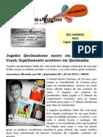 Jogador Queimadense morre em acidente no Ceará; Sepultamento acontece em Queimadas