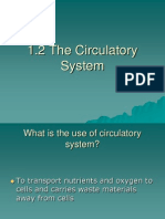 1.2 The Circulatory System