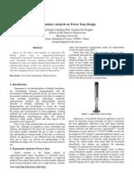 Ergonomics Analysis on Tower Fans Design
