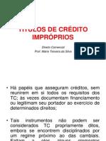 1 Titulos de Credito Improprios
