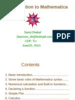 Mathematica Slide