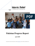 Pakistan Progress Report April 2009