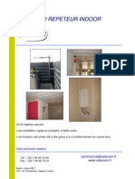 Kit d'installation répéteur Indoor