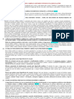 CAPÍTULO 20 – DÉBITO CARDÍACO, RETORNO VENOSO E SUAS REGULAÇÕES - 3 PÁGINAS