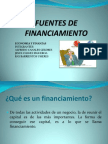 Fuentes de Financiamiento 1