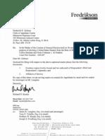 Franken - May 11 Letter