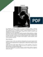 CLASIFICACIÓN DE TRASTORNOS folleto