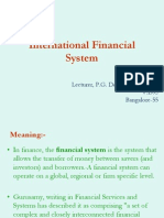 internationalfinancialsystem-130125011405-phpapp01