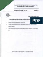 Spm Trial 2012 Physics Qa Penang