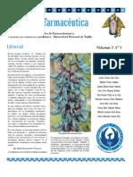 Boletín Botánica Farmacéutica Vol 3 N 1