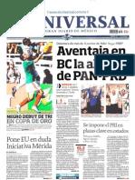 Portadas Diarios de Mexico 08-Jul-2013