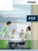 Comparing Your Retirement Plan Options