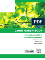 2009Green Book Community Resource Directory