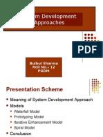 System Development Model
