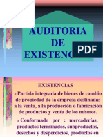 Auditoria de Existencias
