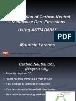 Beta Analytic Presentation about Biogenic CO2