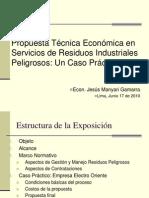 Propuesta Tecnica Economicaen SRIP