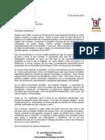 Carta Rector a Feusach 07072013