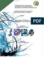Portfolio de Estructura de Datos