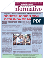 Boletin Informativo Abril 2009