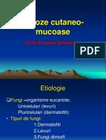 Micoze cutaneo-mucoase