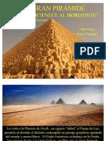 La Gran Piramide - Khufu Pertenece Al Horizonte - Antiguo Egipto - Imágenes