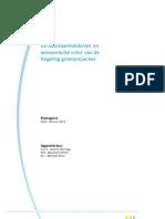 CE Delft - De Duurzaamheidwinst en Economische Winst Van de Regeling Groenprojecten