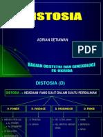 dISTOSIA STIKES