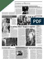 """""""Terre forti"""" su """"La Sicilia"""" del 9 maggio 2009"""